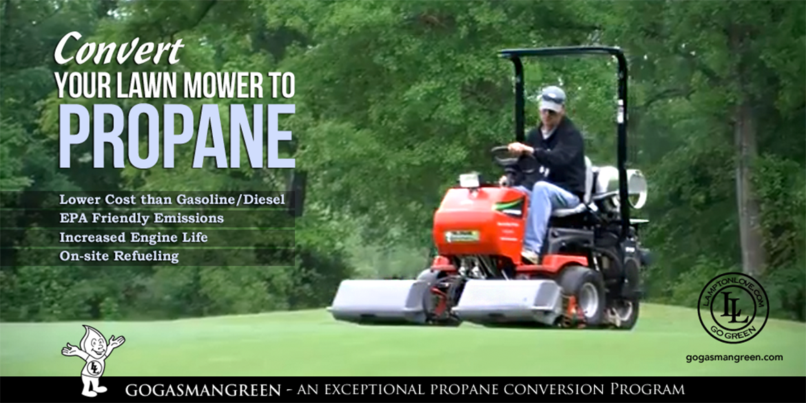 Convert Your Lawn Mower to Propane